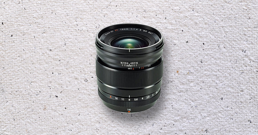 best fuji wide angle lens 16mm