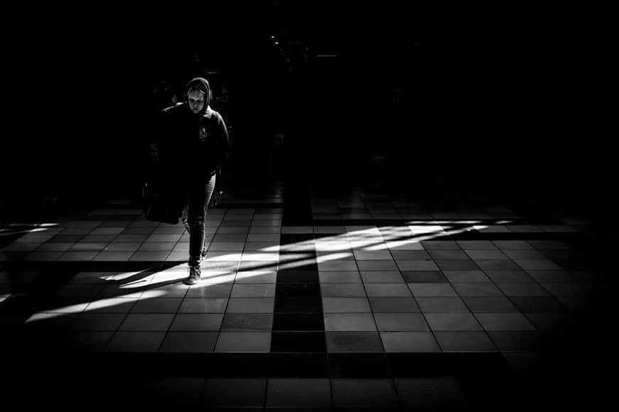 Fast autofocus even in low light makes the Fuji 23mm f/2 a great lens for street photography