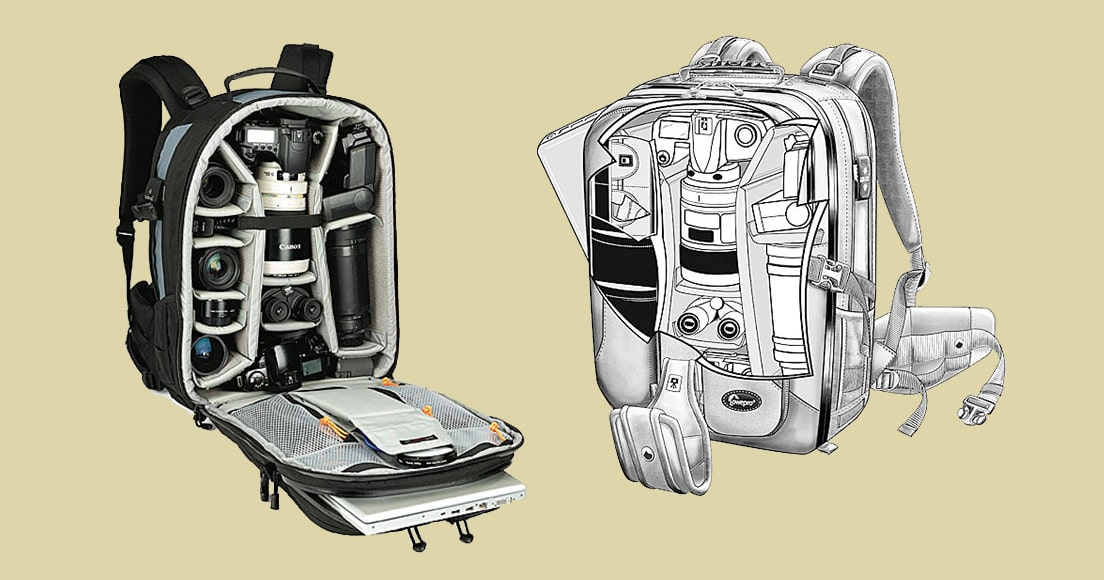 LowePro Vertex camera bags