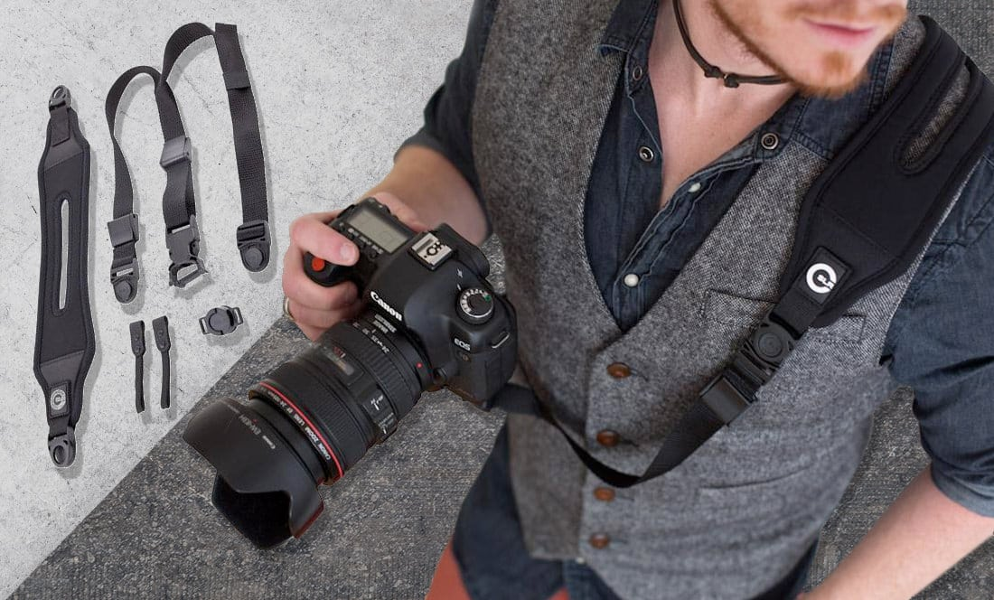 Custom SLR Glide One Strap Camera Strap System