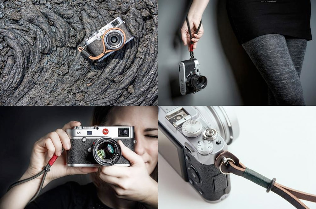 Gordy camera wrist strap